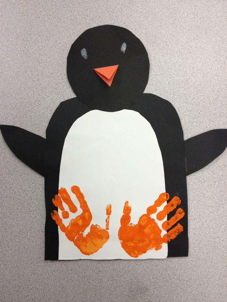 Handprint Penguin