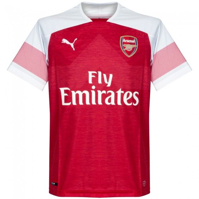 Camiseta Del Arsenal 2018 2019 Local Arsenal Tshirt Shirt Maillot Trikot Maglia Jersey Camiseta Remera Remera Playera Casac Shirts Arsenal T Shirt