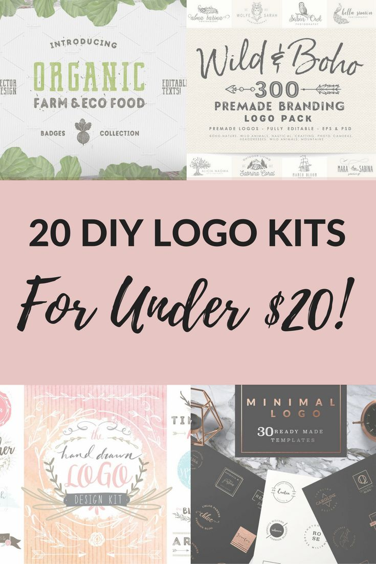 Poster design freelance price - Need A Logo 20 Diy Logo Kits For Under 20 All Handcrafted By Professional