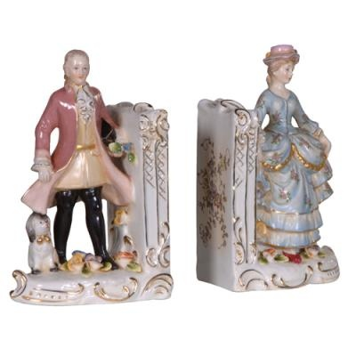 ANTIQUE PAIR VICTORIAN BOOKENDS