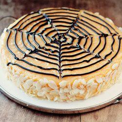 Sernik dyniowy - Kwestia Smaku: Halloweenową Pajęczyną, Pumpkin Recipes, Sernik Dyniowi, Pumpkin Cheesecake Recipes, Autumn, Halloween Favorite, Dashboards, Cheesecake Yummy, Halloween Cakes