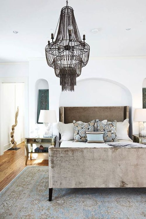 //: Lights Fixtures, Color, Bedrooms Design, Interiors, Master Bedrooms, Beds Frames, Rugs, Bedrooms Decor, White Wall