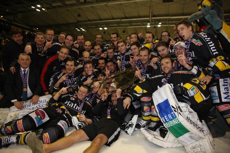 Rouen Hockey Elite, champion d'europe 2012