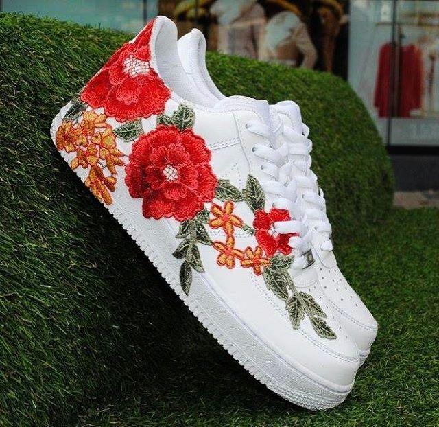 Nike Air Force 1 Low Floral Customs