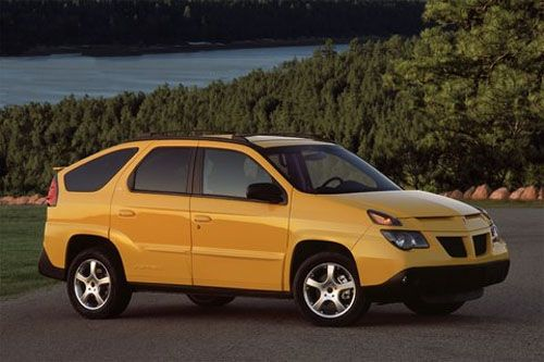 Do you remember the first time you saw a Pontiac Aztek on the road? I thought it was someone's idea of a joke as it was the ugliest automobile I had ever seen. It is perfectly cast in Breaking Bad as Walter's ride. It's the kind of car people who have given up and hate cars drive.