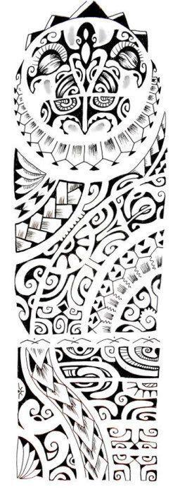 Tatouage Polynésien » Motif Dessin Tatouage #polynesiantattoosturtle