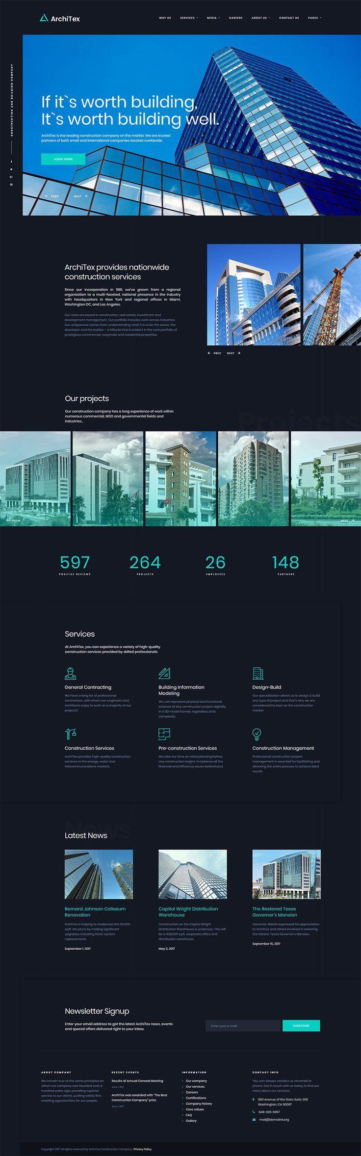 366 best Web Templates images on Pinterest | Design web, Editorial ...