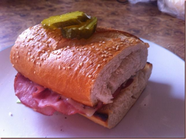 Slim Jim sandwich from Big Boy's