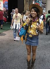 toy story jessie halloween costume... and woody??
