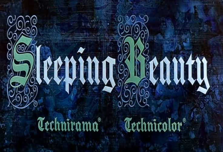 Once Upon A Time Calligraphy Sleeping Beauty Openin...