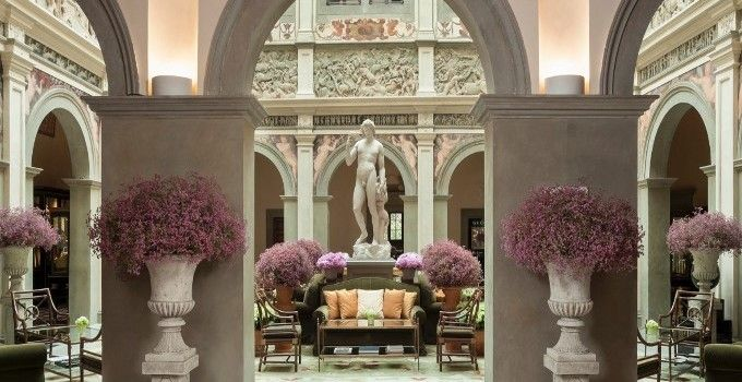 Four Seasons Firenze by Pierre-Yves Rochon http://hotelinteriordesigns.eu/four-seasons-firenze-by-pierre-yves-rochon/ #best #luxury #hotels #florence #hoteldesign
