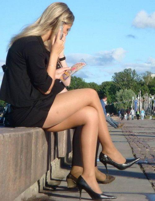 Legs With Nylon 92