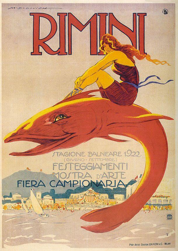 Dudovich - poster Rimini