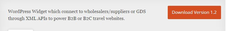 https://wordpress.org/plugins/oganro-reservation-widget/              Travel Portal Widget For WordPress      Oganro Travel Portal Widget is useful to create WordPress based B2C or B2B travel agency website, which can be integrated to any travel industry wholesale supplier who is offering XML/ API connections. Travel portal can be work with any travel services such as Hotels, Flights, Airlines, Excursions, Car Hire, Taxi, Transfers, Railway and Cruse.