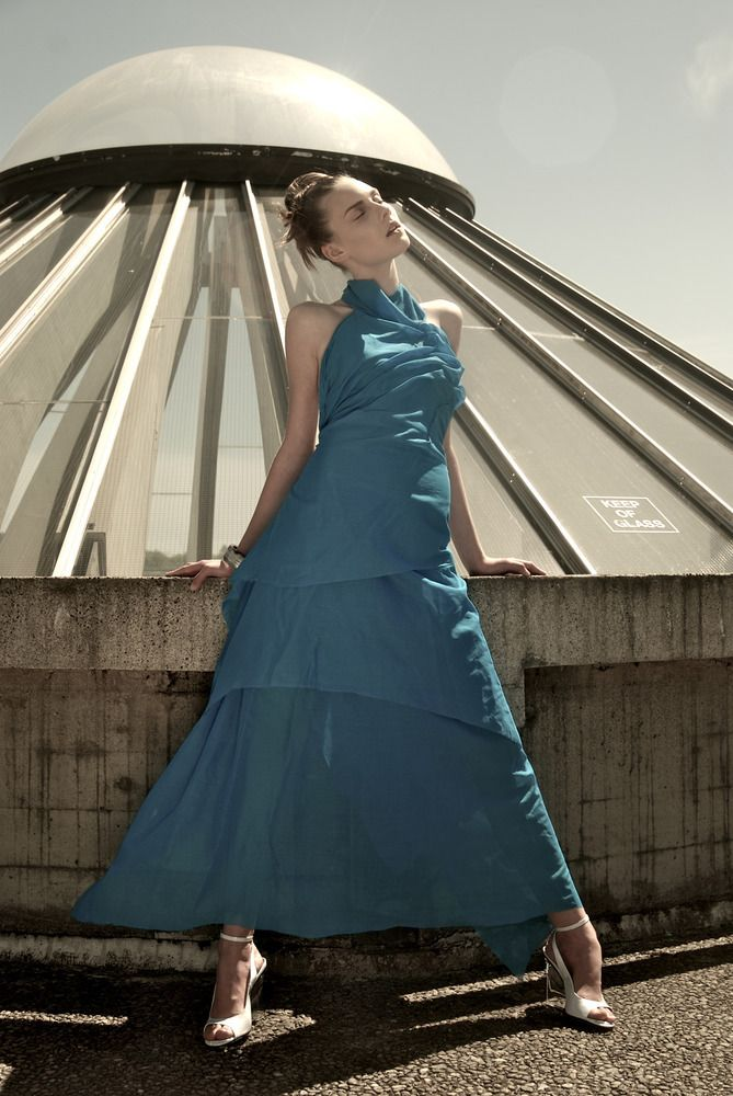 Our floor length Hera gown, by Elika In Love.  Shop www.elikainlove.com