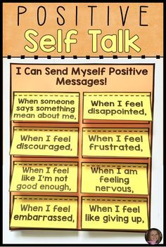 These positive self talk activities are the perfect addition to your coping skills and self esteem lessons. Students will learn what positive self talk is and how to use it.