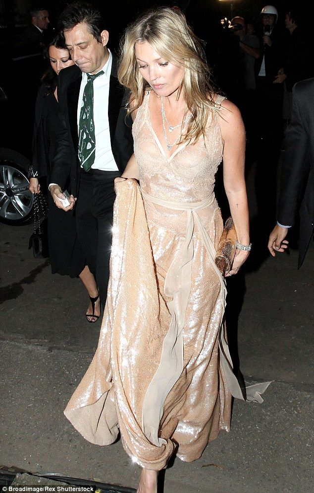 Final public appearance: Jamie and Kate were last pictured together at a charity gala in S...