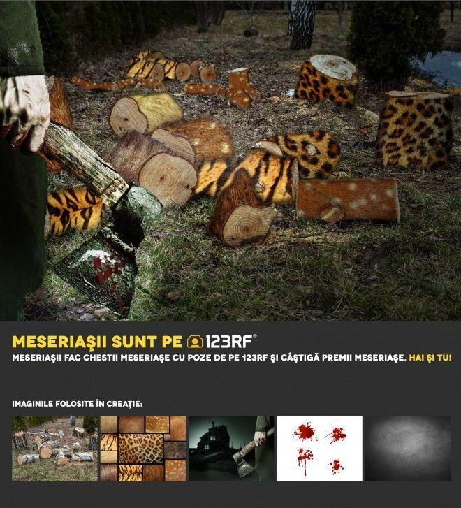 """""""Victime colaterale"""" by Sorin Barbulescu. Meseriasii sunt pe 123RF!"""