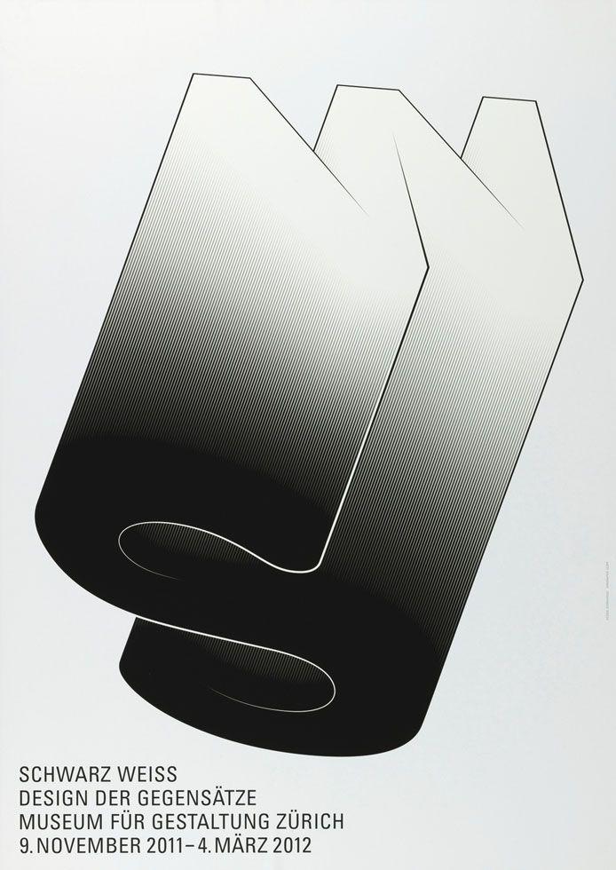 Schwarz Weiss – Design der Gegensätze - 100 Beste Plakate e. V. #typography