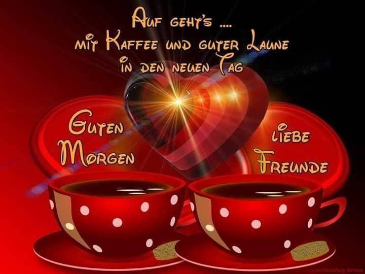 Guten Tag Mein Schatz Kaffee Glassware L Miss You