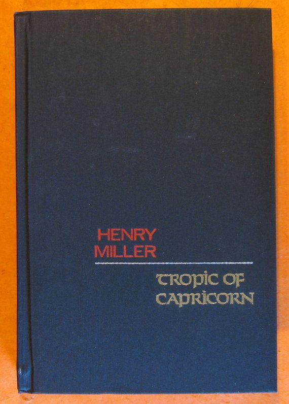 Tropic of Capricorn by Henry Miller by Pistilbooks on Etsy