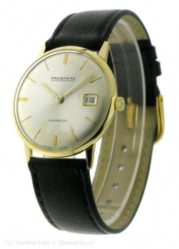 VINTAGE - Prospera 14k vintage watch :: Goedhorloge.nl