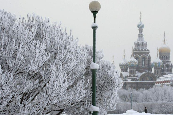 La Cathédrale Saint-Sauveur-sur-le-Sang-Versé de Saint-Pétersbourg, en Russie