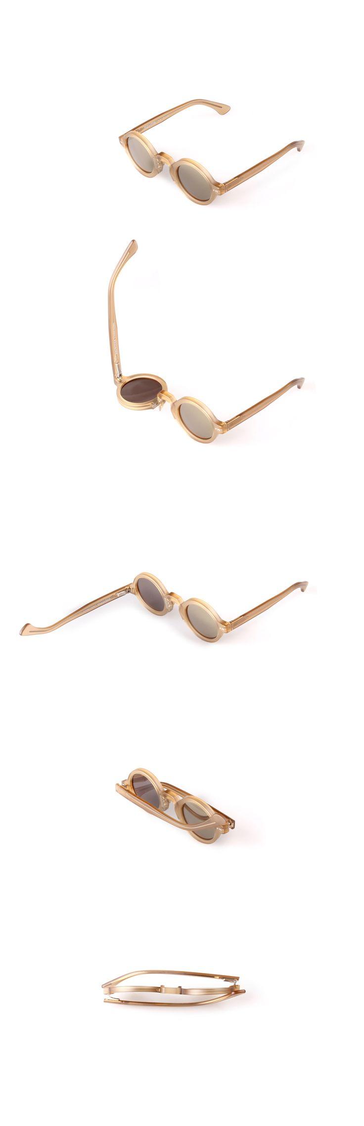 Movitra 215 - Cristallo miele con lente flash bronze #sunglasses #movitra #movitraspectacles #spectacles #glasses #eyewear