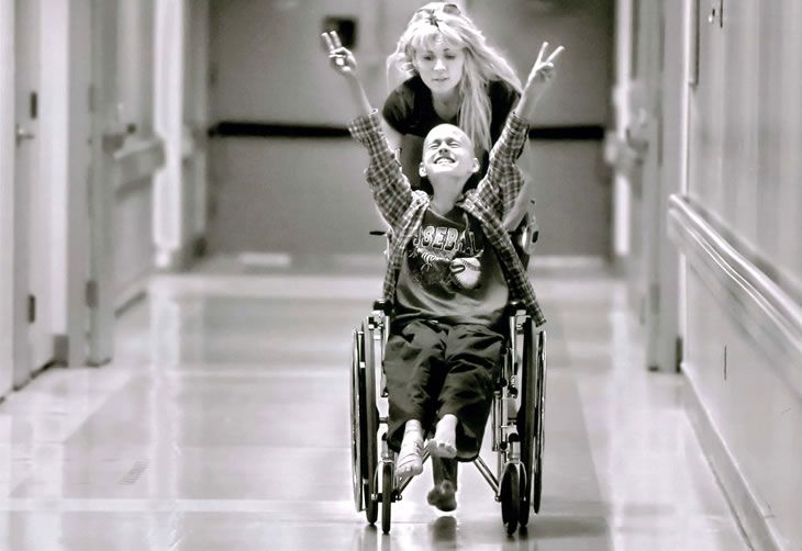 Pulitzer Prize winning pediatric oncology photography.   Oh ...