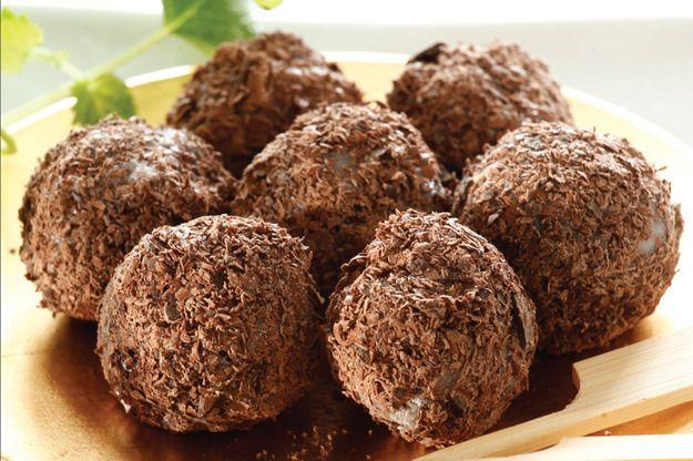 Trufle rumowo-czekoladowe