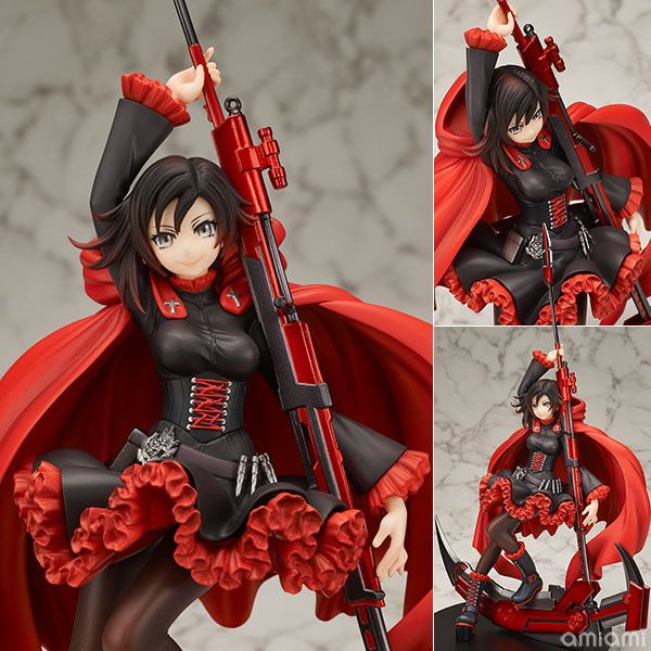 """Crunchyroll - Ruby Rose Is Armed and Dangerous in New """"RWBY"""" Figure"""