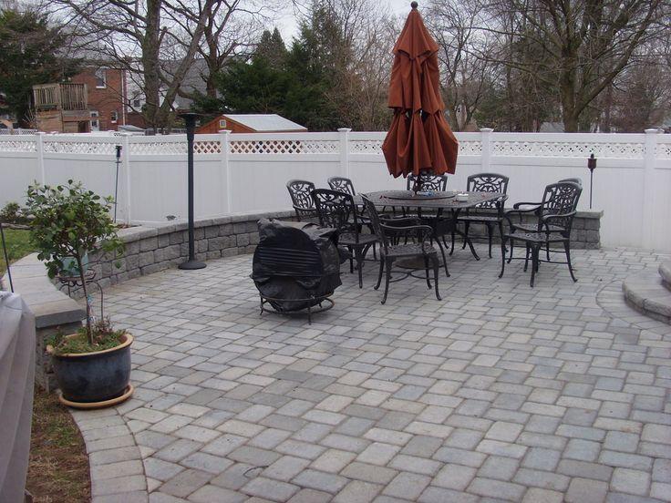Paver Ideas For Backyard   Nj 07039 Pavers Retaining Walls Union Nj 07083  Backyard Paver Patio