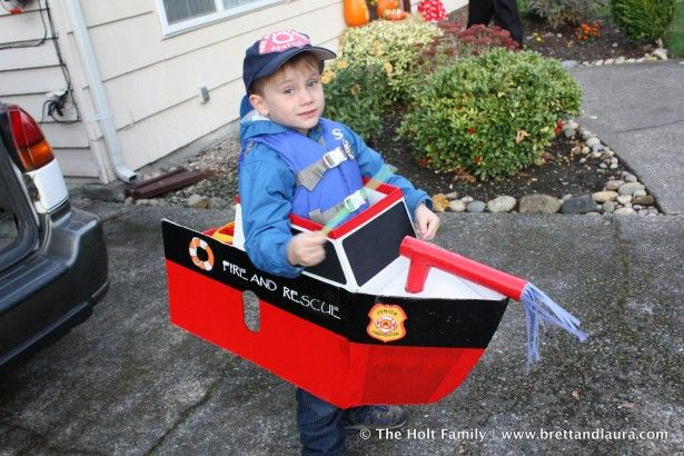 DIY boat costume for kids - Google Search