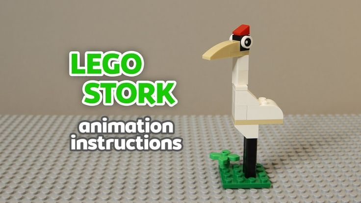Lego Storch Spielzeug Stop Motion Animation Anleitung Ideen Fur