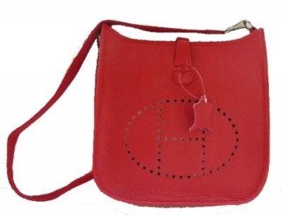 Pochette Hermes rouge