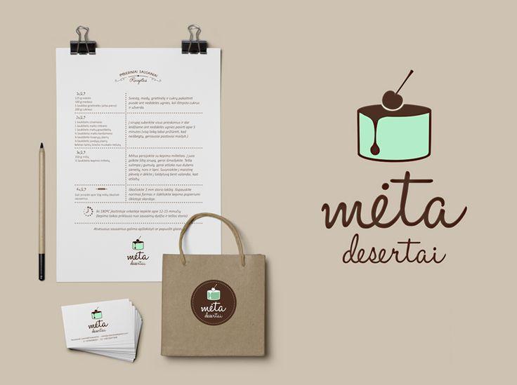 Meta logo | Bruknės Dizainas