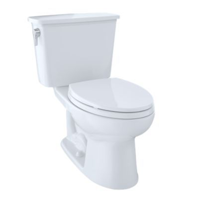 Toto Eco Drake Transitional 2-Pc Toilet 1.28 GPF ADA Compliant Elongated Bowl list $555