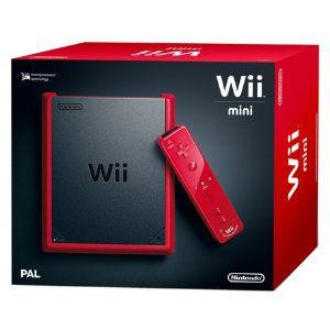 119e Nintendo Wii Mini (musta/punainen). Käy myös mikä tahansa muu Wii tykötarpeineen. Myös käytettynä jos toimii.