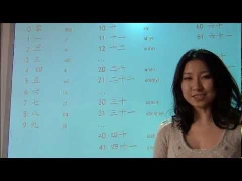 Los números en Chino - Clases de Chino II