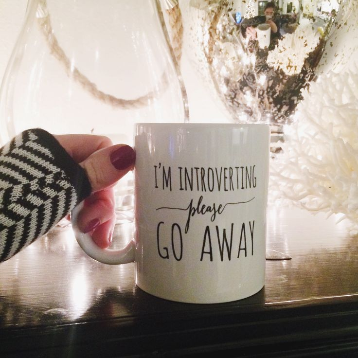 Introvert mug – Manor | Simply Smashing Home Decor