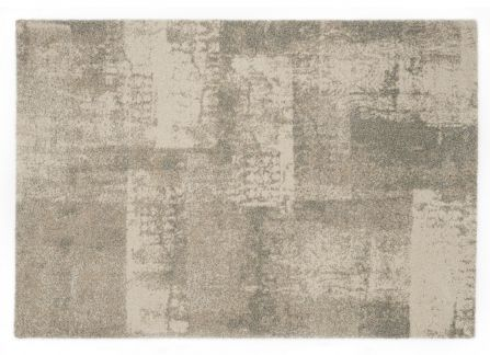 Park Mirror Ivory Area Rug - as used in the Living Area of the #decorium #modelsuite