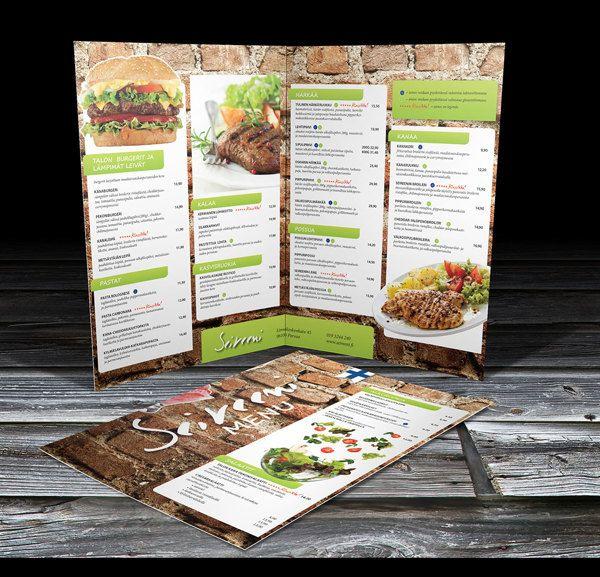 Seireeni menu 2011 by Ville Palmu, via Behance