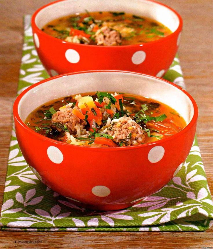 Суп в который кладут варёный яйца