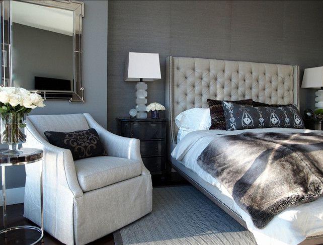 Gray Bedroom. Gorgeous Gray Bedroom. #Gray #Bedroom