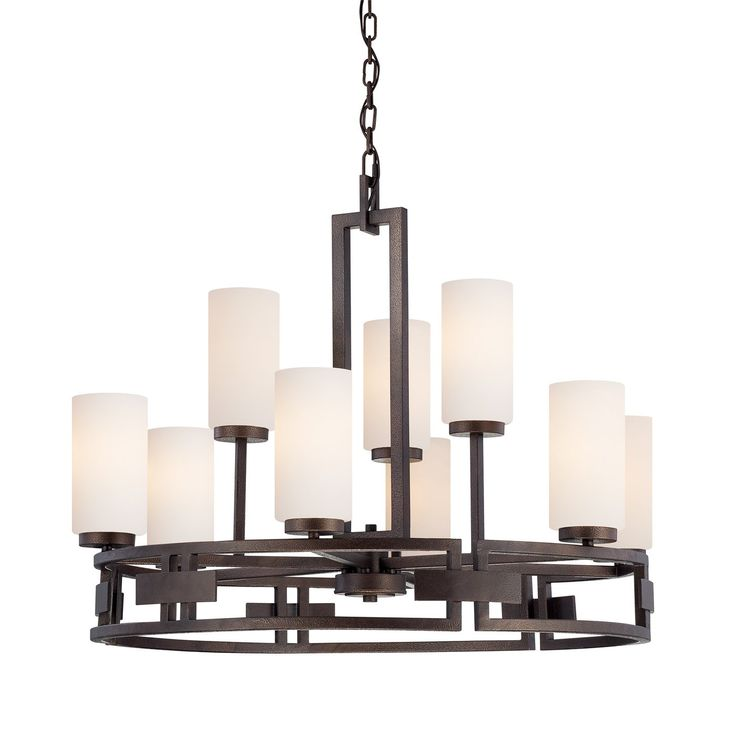 Shop Designers Fountain  83889-FBZ Del Ray 9-Light Chandelier at The Mine. Browse our chandeliers, all with free shipping and best price guaranteed.