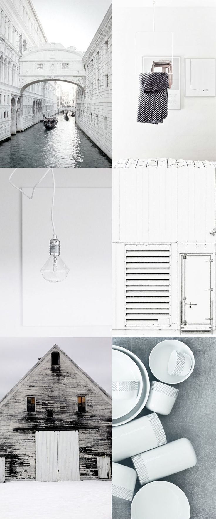 All whites - via Coco Lapine Design
