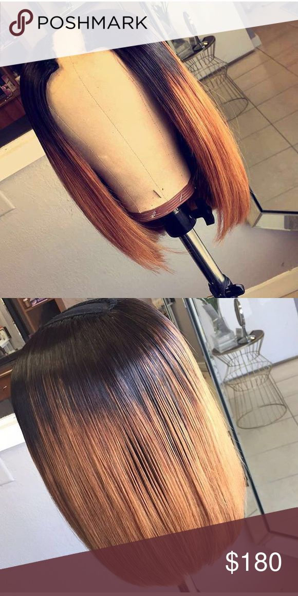 """Custom U Part Wig 100% Human Hair ✅   Does not shed nor tangle if taken care of properly ✅   Can be Dyed, Curled, Bleached, Straighten, Conditioned, ✅  I sell 8""""-32""""inches If you want longer it takes 20 days for longer hair   All orders are Pre-orders!!   No Lowballers❌   Asking for a cheaper price hit the offer button   Wanting a certain color comment below ... you must purchase Hair first before I color Hair which takes 1-2 weeks   Also when sending colors for custom color pleas make sure…"""