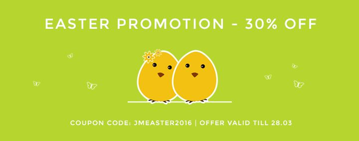 Extended #Easter sale! Today you can still buy our #Joomla #templates 30% OFF!