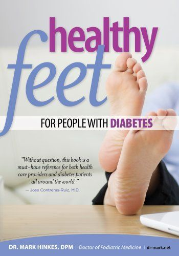 Healthy Feet for People With Diabetes by Mark Hinkes. $10.91. 198 pages. Publisher: HealthyFeet, LLC (August 28, 2012)  (For no-fungus and for anti-odour feet use BriskStep cedar shoe insoles - best natural insoles against smelly feet, athlete's foot and excessive foot odor)
