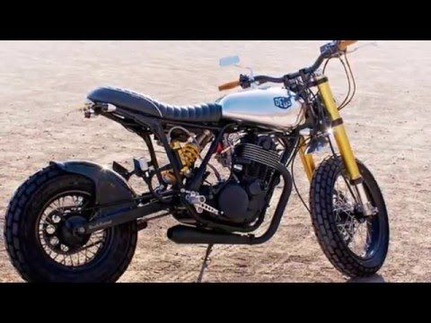 Modified Yamaha SR500 by Deus
